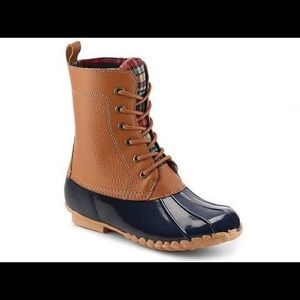 Sporto Duck Style Boots!  Great condition!